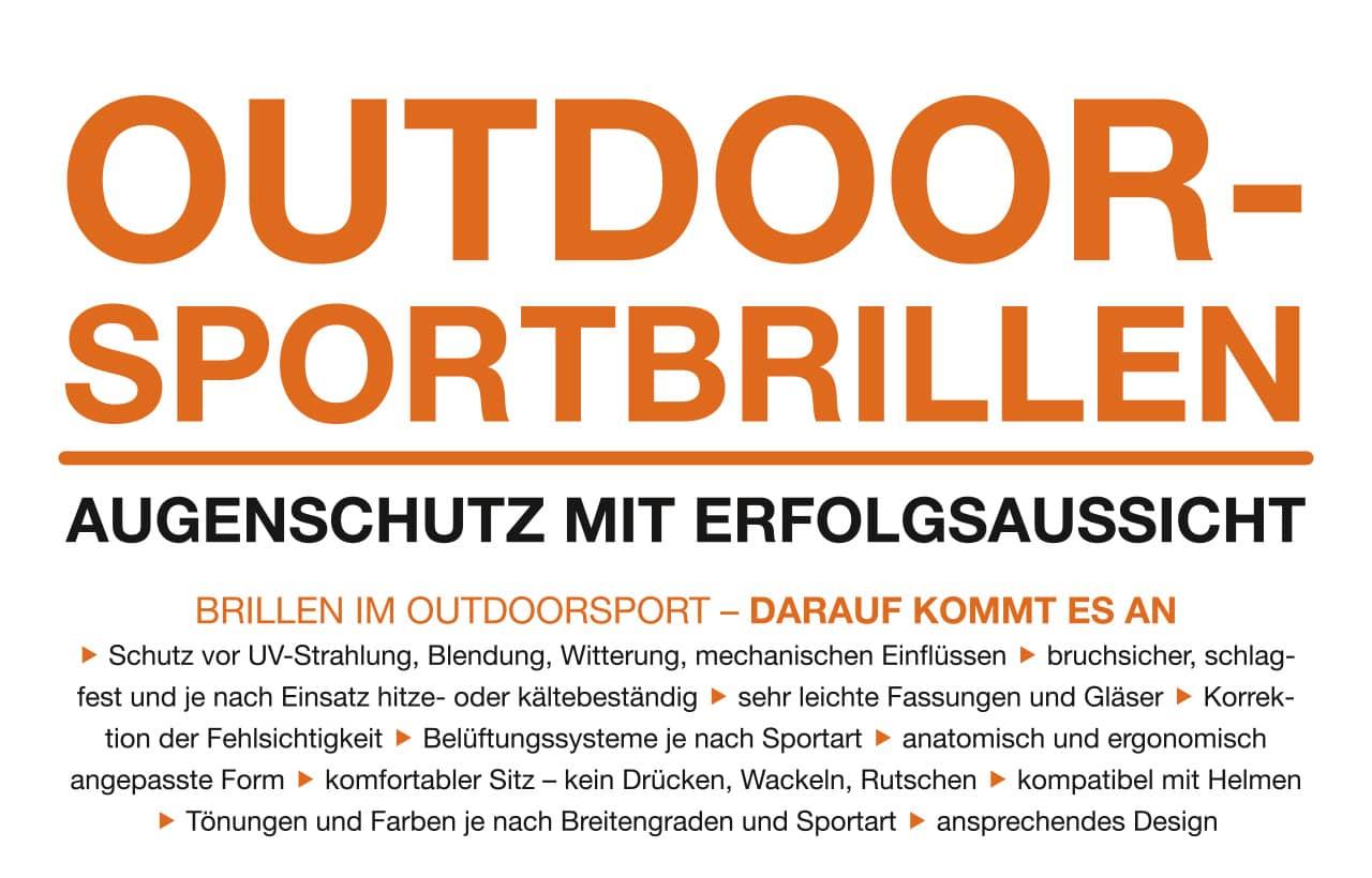 Sportbrillen: Worauf es ankommt   Kuratorium Gutes Sehen e.V.