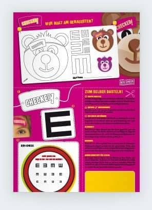 Seh Test Für Kinder Kuratorium Gutes Sehen E V